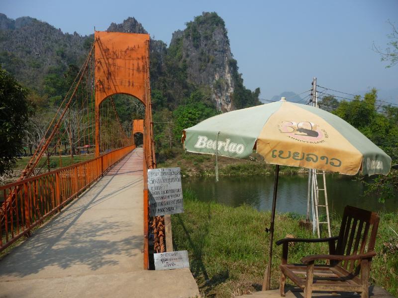Vang Vieng Zollbrücke